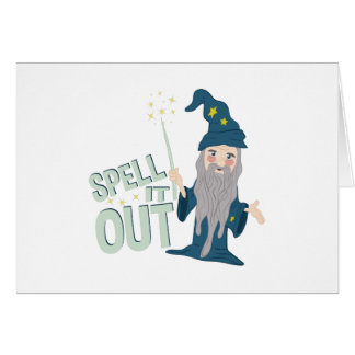 Spell It Out Card
