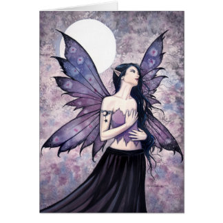 Spell of Night Fairy Greeting Card