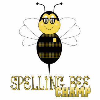 Spelling Bee Champ Ornament Photo Sculpture Ornament