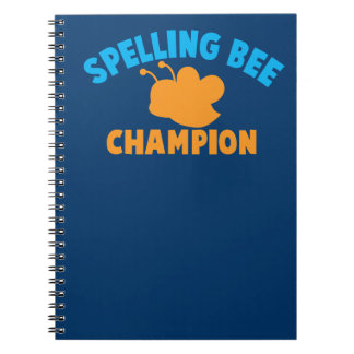 Spelling Bee Champion Note Book