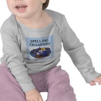 SPELLing champion witch joke T Shirts