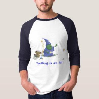 Spelling is an Art T-Shirt