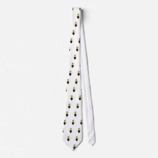 SpellingBee Bumble Bee Tiling Neck Tie