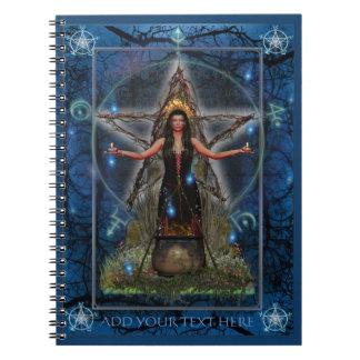 Spellweaver Notebook (Custom Blue)