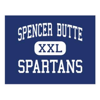 Spencer Butte Spartans Middle Eugene Oregon Postcard
