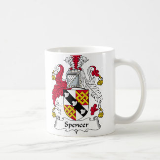 Spencer Family Crest Coffee Mug