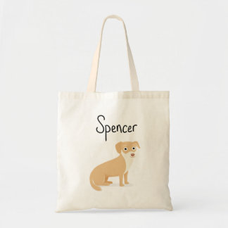 Spencer on a tote! tote bag