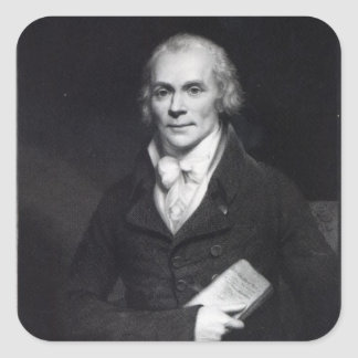 Spencer Perceval Square Stickers
