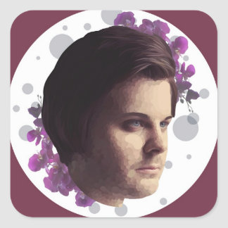 Spencer Smith Orchid Sticker (6 count)