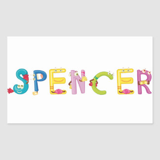 Spencer Sticker