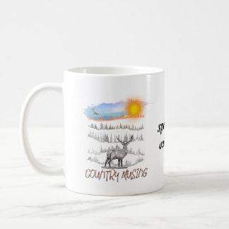 Spend life outdoors mug