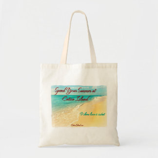 Spend Your Summer at Catica Island Tote Bag