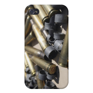 Spent brass and disintegrated links iPhone 4 covers