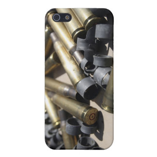 Spent brass and disintegrated links iPhone 5 cover
