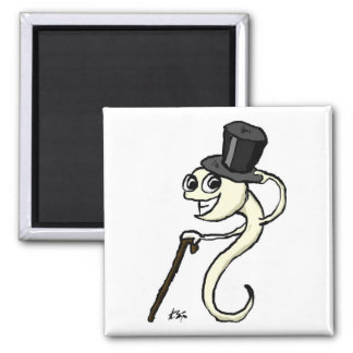 Sperm in a Top Hat Magnet