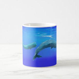 Sperm Whales Coffee Mug