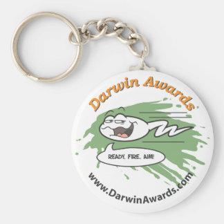 Spermatozoid Keychain: Ready, Fire, Aim! Basic Round Button Keychain
