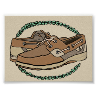 Sperry's shoe poster