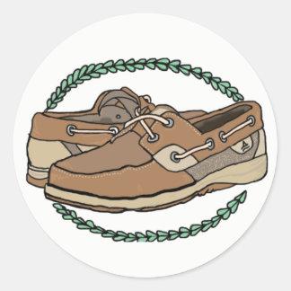 Sperry's shoe sticker