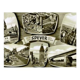 Speyer, Rhine, Germany Postcard