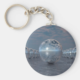 Spheres In The Sun Keychain