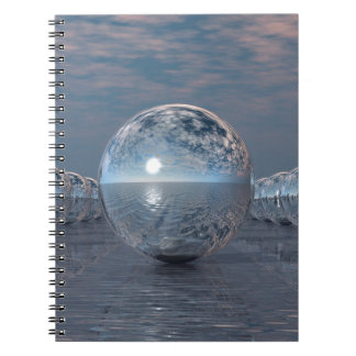 Spheres In The Sun Spiral Notebook