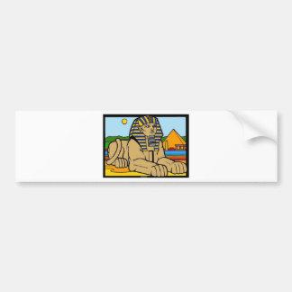 Sphinx Bumper Sticker