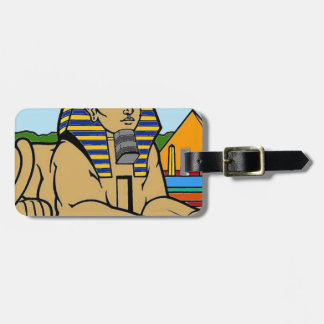 Sphinx Luggage Tag