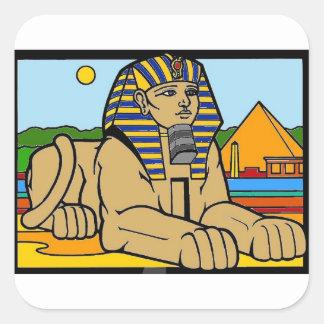 Sphinx Square Sticker