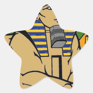 Sphinx Star Sticker