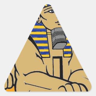 Sphinx Triangle Sticker