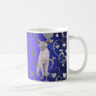Sphynx cat coffee mug