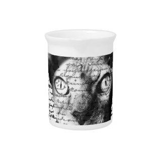 Sphynx cat drink pitchers