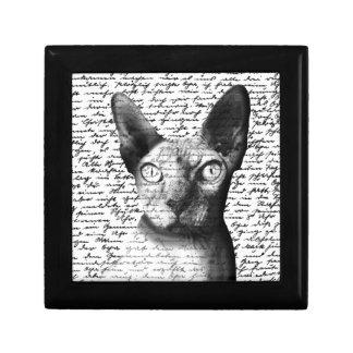 Sphynx cat gift box