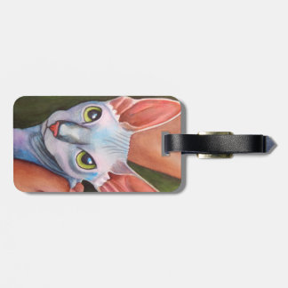 Sphynx Cat Luggage Tag