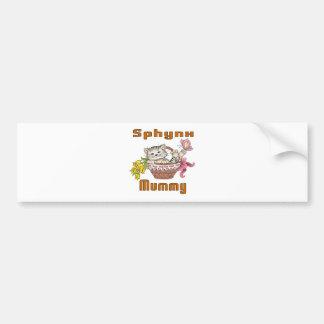 Sphynx Cat Mom Bumper Sticker