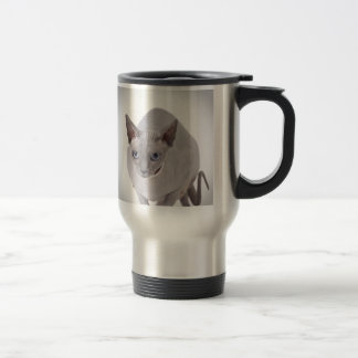 Sphynx cat travel mug