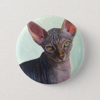 Sphynx Sphinx Cat Cats Sunitha 2 Inch Round Button