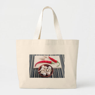 Spice background for cooking jumbo tote bag