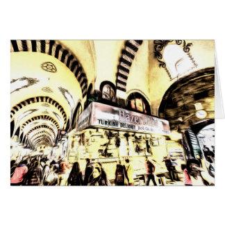Spice Bazaar Istanbul Art Card