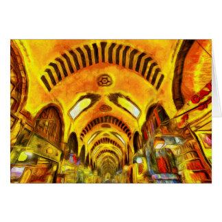 Spice Bazaar Istanbul Van Gogh Card