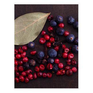 Spice Berries Postcard