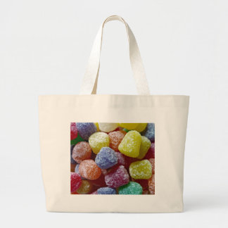 Spice Gumdrops Large Tote Bag