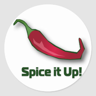 Spice-it-Up Classic Round Sticker