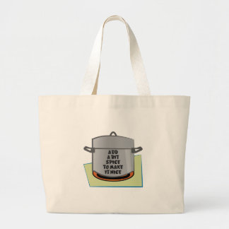 Spice To Make It Nice Canvas Bags
