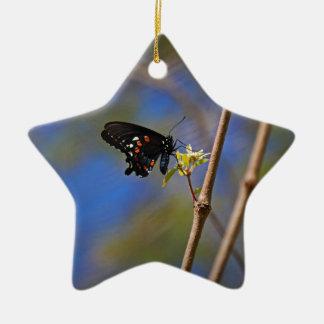 Spicebush Swallowtail I Ceramic Ornament