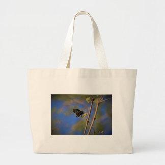Spicebush Swallowtail I Large Tote Bag