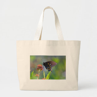 Spicebush Swallowtail II Large Tote Bag