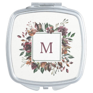 Spiced Botanical | Monogram Mirror For Makeup