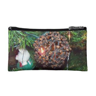 Spiced Ornament Bagette Makeup Bag